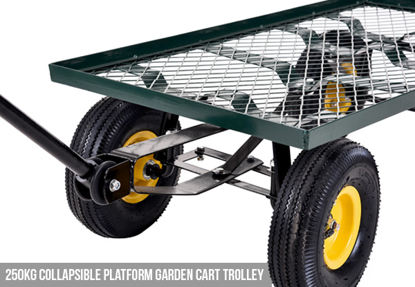 Garden Trolley Cart - Two Options Available