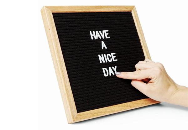 black felt letter board grabone nz. Black Bedroom Furniture Sets. Home Design Ideas