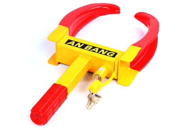 Car Wheel Lock with Three Keys