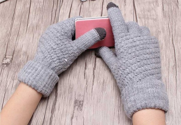 Cosy Touch Screen Winter Gloves - Three Colours Available
