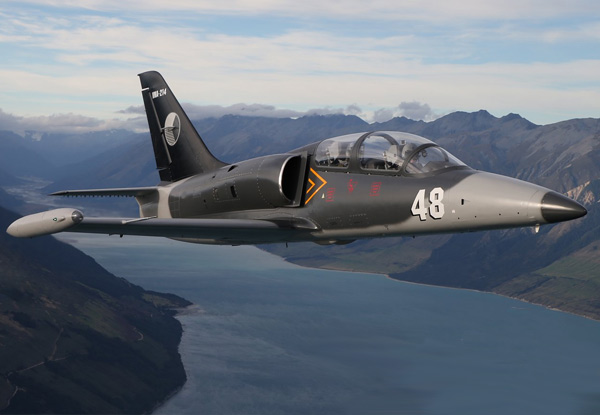 New Zealand's Ultimate Winter Adrenaline Experience - Fighter Jet Coastal Buzz & Break Flight - Option for Top Gun or Thermal Recon Experience Available