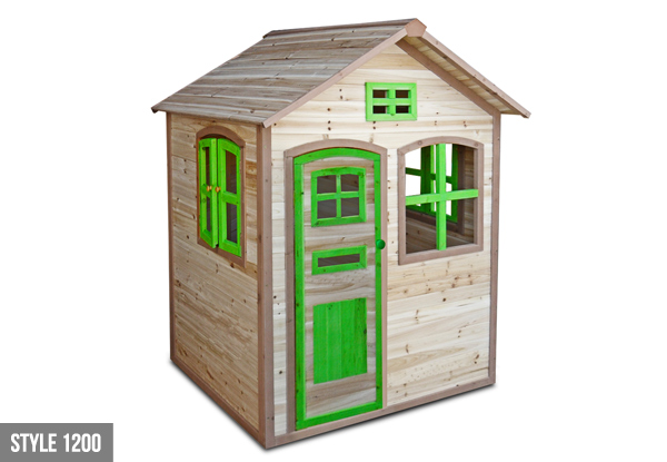 Wooden Children's Playhouse - Two Options Available