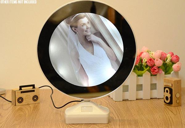 LED Magic Mirror Photo Frame • GrabOne NZ
