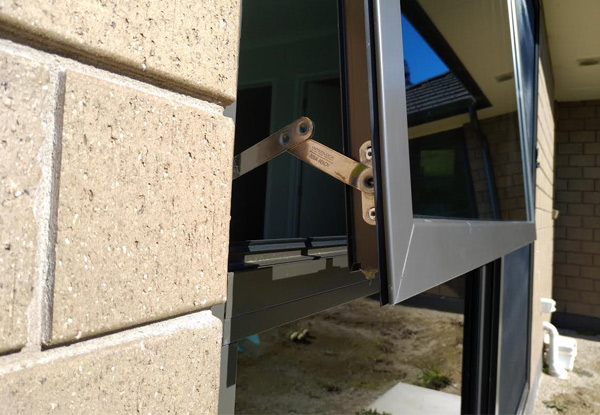 Window Security Stay Install