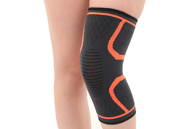 Knee Support Sleeve - Available in Four Sizes & Seven Colours with Free Delivery