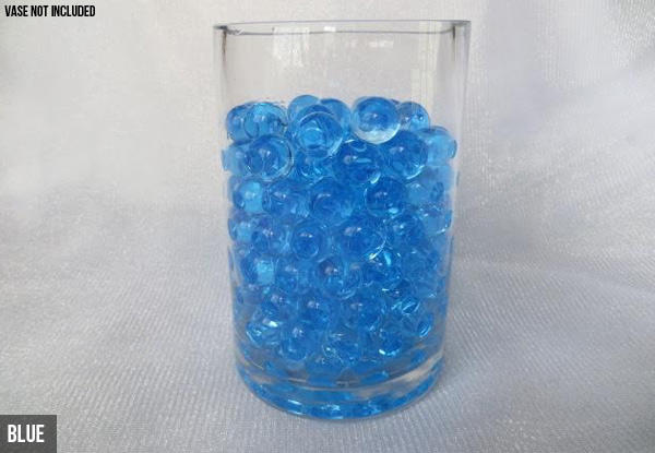 Five Pack Of Water Pearl Vase Filler Decorations  - Seven Colours Available