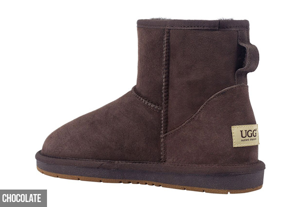 Auzland Unisex 'Calypso' Classic Mini Sheepskin UGG Boots - Five Colours Available