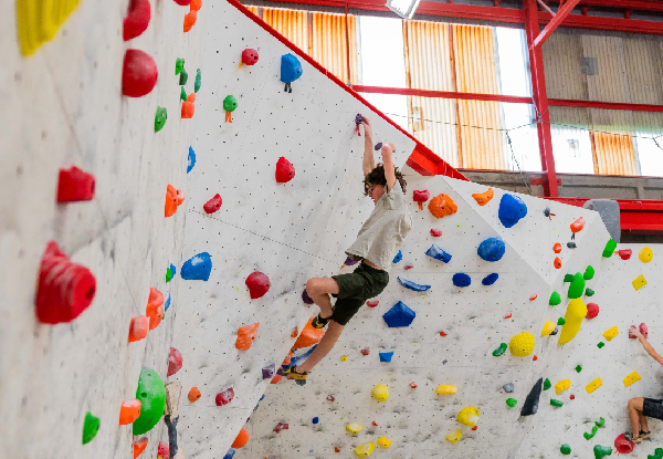 One-Month Indoor Rock Climbing Adult Membership incl. Unlimited Visits & All Equipment Hire - Options for a Child Membership