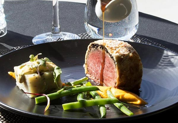 Three-Course Fine Dining A la Carte Meal incl. Any Entree, Main, Dessert & Glass of Bubbles - Options for up to Six People