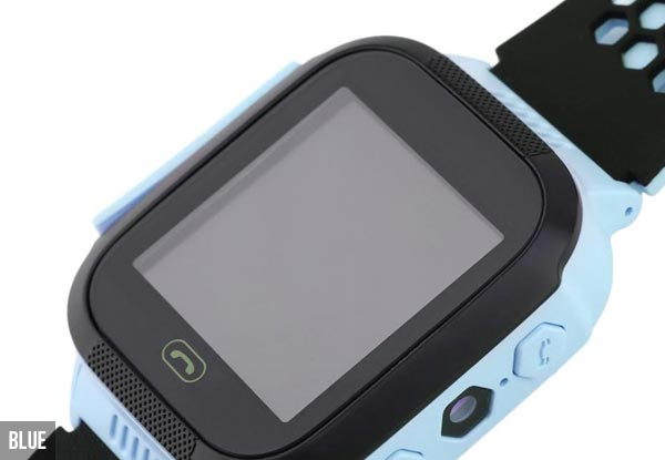Kids' Touch Screen Smart Watch with SOS Monitoring, Remote Tracking & Flashlight - Two Colours Available