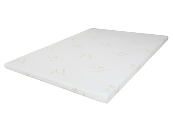 Gel Memory Foam Mattress Topper - Two Sizes Available