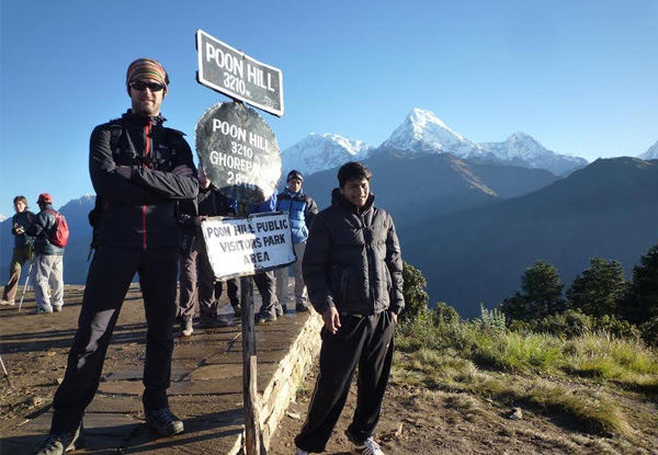Per-Person Twin-Share 11-Day Annapurna Base Camp Trek incl. Accommodation, Transfers, Porters & More