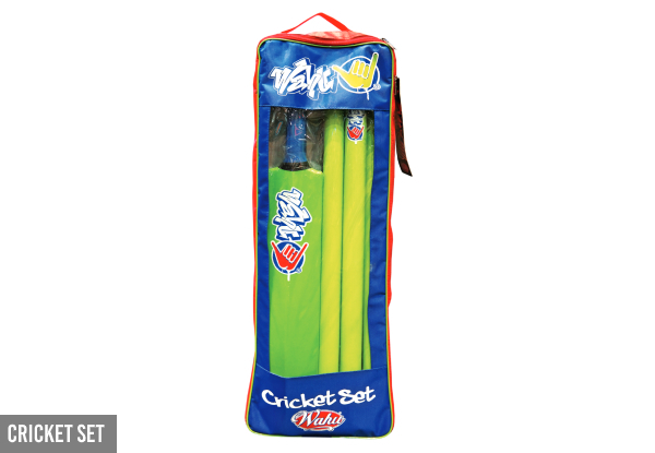 Wahu Outdoor Games Range - Option for Wahu Cricket Set or Bungee Disc Set