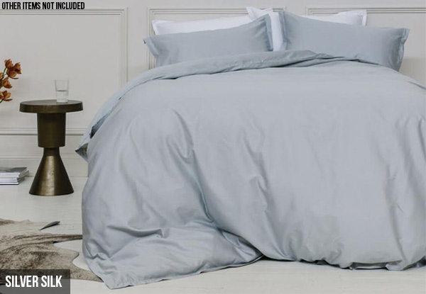 Canningvale Palazzo Royale 1000TC Duvet Cover Sets - Four Sizes & Colours Available