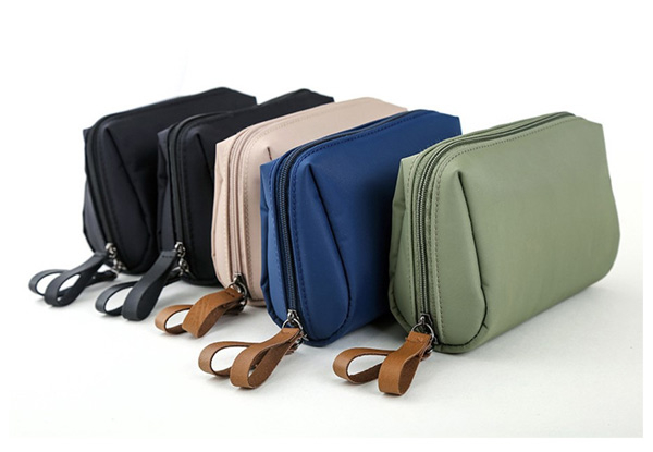 Water-Resistant Toiletries Bag - Four Colours Available & Option for Two with Free Delivery