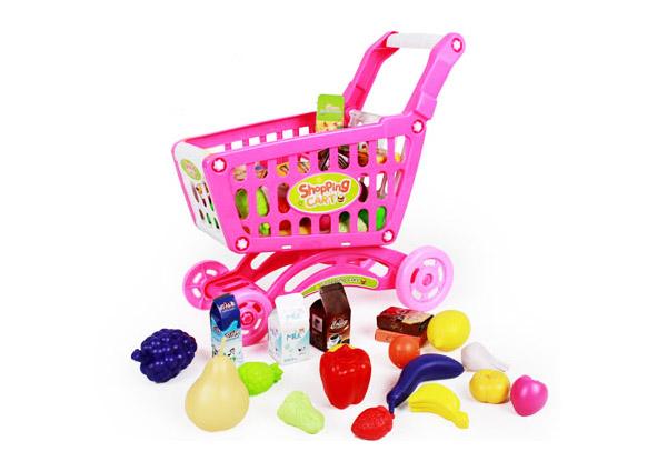 shopping cart toy set grabone nz. Black Bedroom Furniture Sets. Home Design Ideas