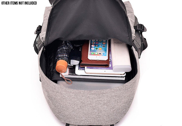 Ultra Light Backpack with USB Charging Port