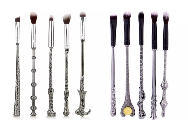 Harry Potter Themed Makeup Brush Set - Two Colours Available
