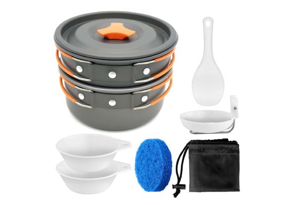 Camping Cookware Mess Kit with Free Delivery