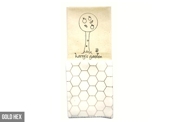 Two-Pack Bio Bee Beeswax Food Wraps