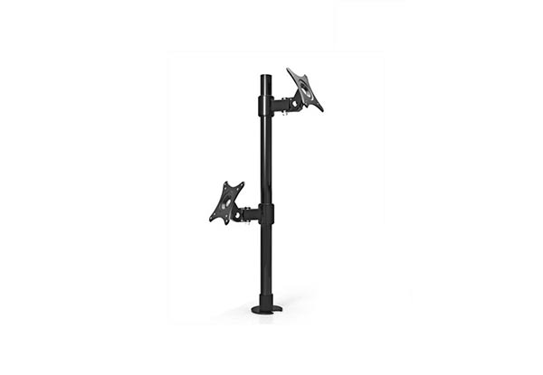 Dual LCD Monitor Bracket Table Stand Support