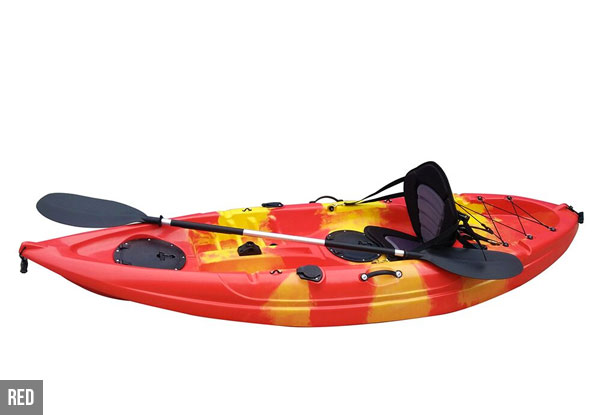 'Sit On Top' Kayak - Two Colours Available