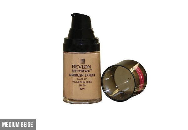 Revlon Foundation Photoready Airbrush Effect - Six Colours Available