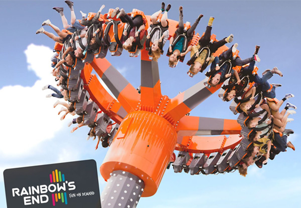 Superpass to Rainbows End - Unlimited Entry to all Rides incl. The Latest Spectra XD Dark Ride - Options incl. Meal Deal, Photo Package, or Both