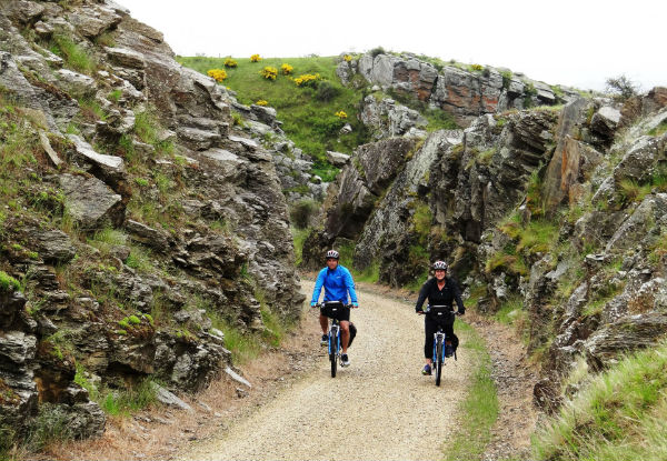Per-Person, Twin-Share, Four-Day/Three-Night Otago Central Rail Trail Cycle Tour