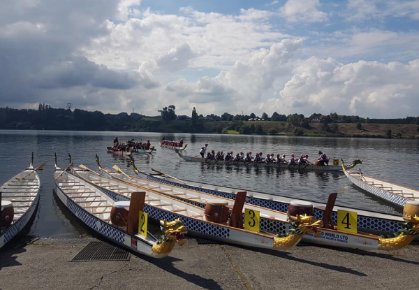 Introduction to Dragon Boating with the Bay Dragons incl. All Equipment Hire & Training for One Person - Options for up to Six People