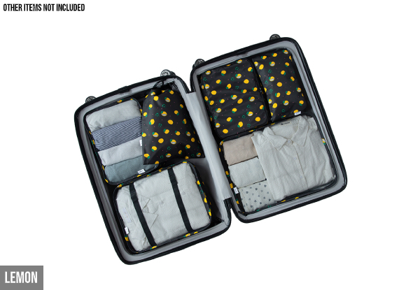 Six-Piece Travel Organiser Storage Set - Four Styles Available & Option for Two