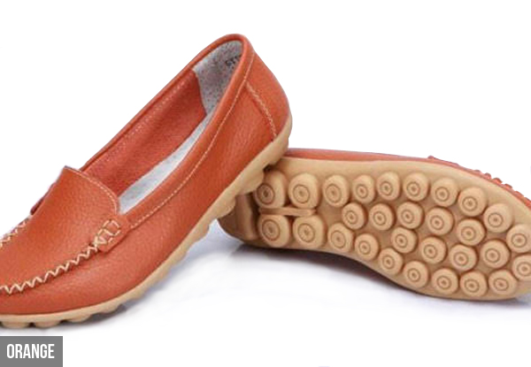 Leather Loafers - Eight Colours Available