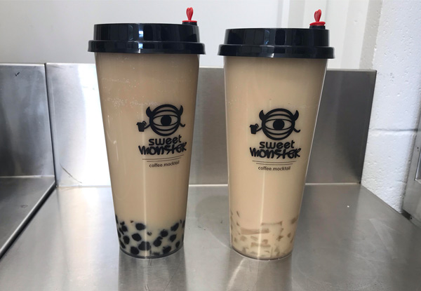 Two Bubble Teas or Smoothies - Valid Seven Days