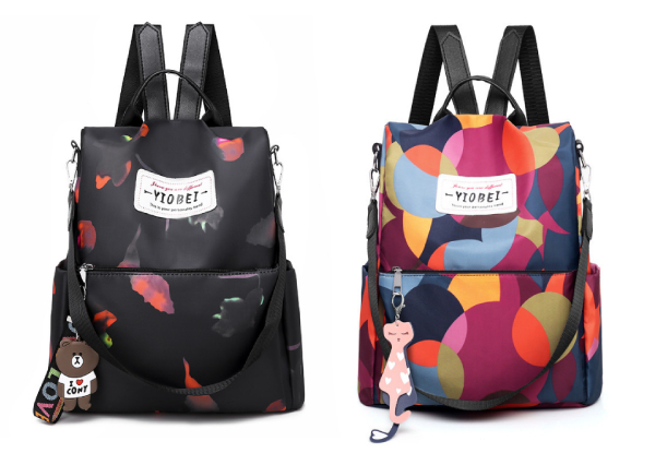 Travel Backpack - Two Designs Available with Free Delivery