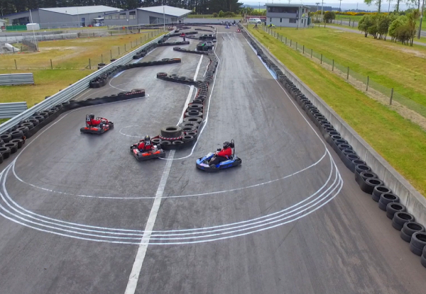 V8 Driving Experience & 10-Minute Karting Session for One Person - Options for Two People & Single-Seater Drive