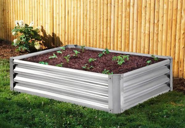 Steel Frame Raised Garden Bed Grabone Nz