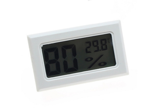 Humidity Sensor Temperature Thermostat Two-Pack - Two Colours Available