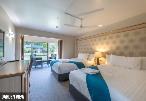 Two-Night Copthorne Hotel Bay of Islands 4 Star Stay for Two People in a Garden View Room incl. a $20 Food & Beverage Voucher, Daily Cooked Breakfast, WiFi, Swimming Pool Access & Late Checkout - Options for Superior Seaview Room & for Three-Night Stays