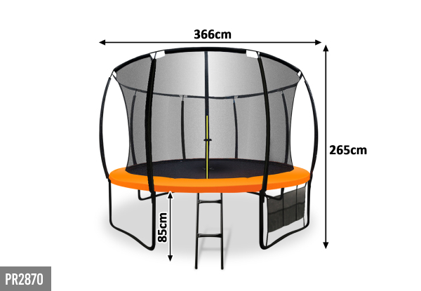 Trampoline Range - Eight Options Available