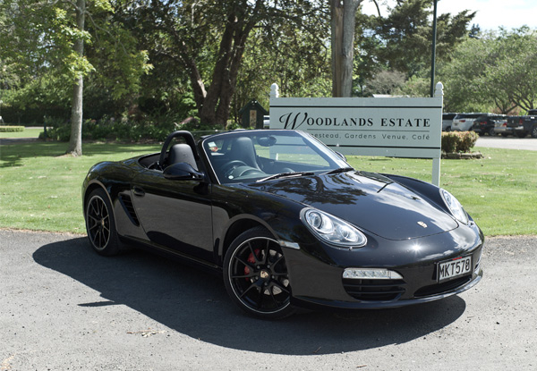 Porsche Roadster Drive & Woodlands Experience for One Person
