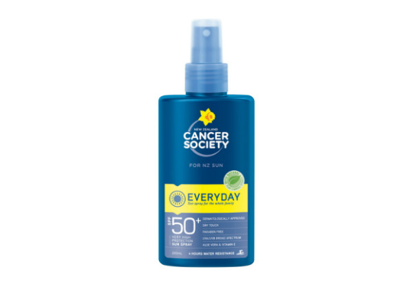 Cancer Society SPF50 Everyday Sunscreen Spray 200ml
