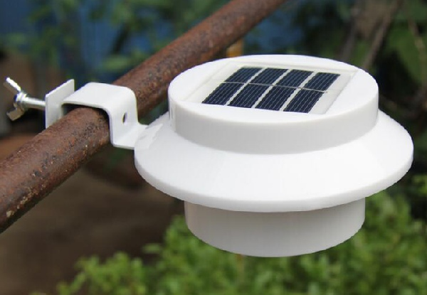 Two-Pack of Solar Gutter Lights - Option for a Four-Pack & Two Styles Available