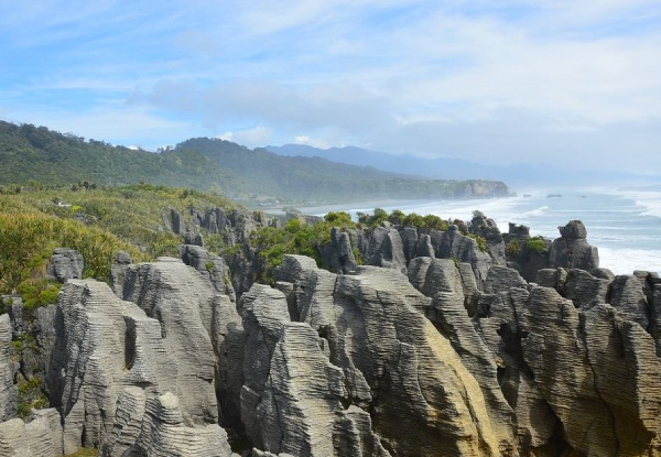 Three-Day South Island West Coast Wilderness Package for Two People incl. Two Berth Campervan Rental, Accommodation & Insurance - Option for Activities Inclusive Package incl. Three-Course Dinner