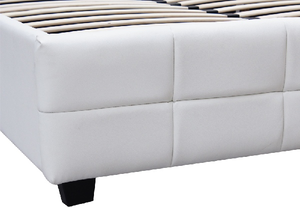 Augusta Slat King Bed - Two Colours Available