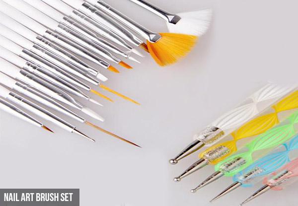 20pc Nail Art Tool Set