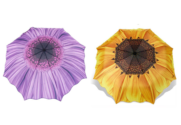 Flower Umbrella - Two Colours Available with Free Delivery