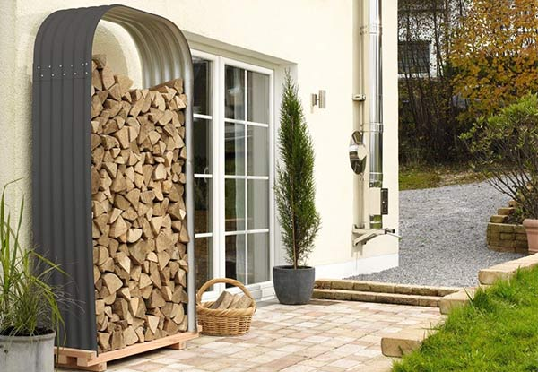 Outdoor Firewood Storage - Two Sizes Available