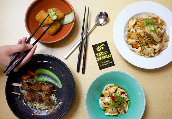 Four Asian Fusion Sharing Plates with a Mongolian Twist Inspired by a Top Auckland Chef - Options for Five & Six Plates