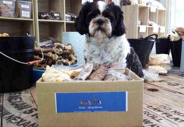 One-Month Dog Delishimo Box Monthly Subscription incl. NZ Natural Dog Treats - Option for Three-Months