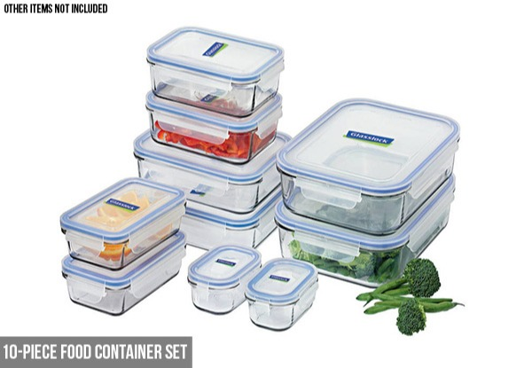 Glasslock Containers Set Range - Five Options Available